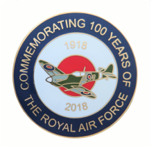 Royal Air Force RAF Centenary 1918 to 2018 Spitfire Commemorative Coin - Boxed